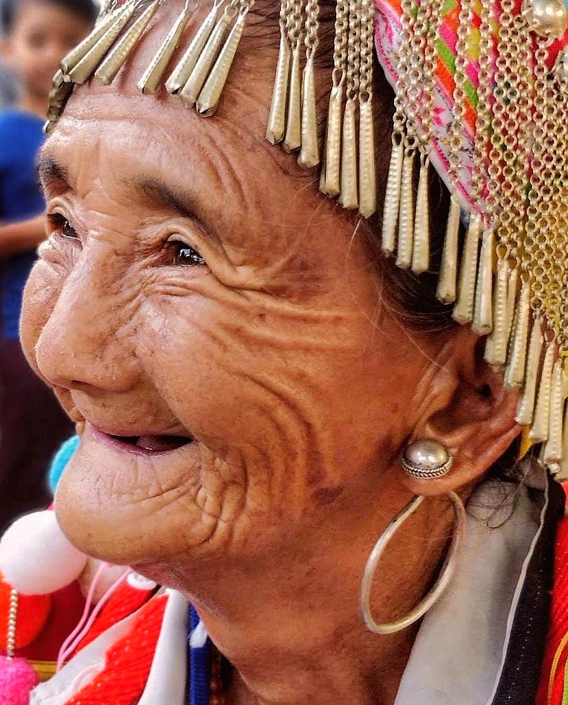 Sweet Smile  Grandmother