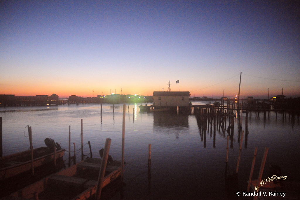 Tangier Island in the morning