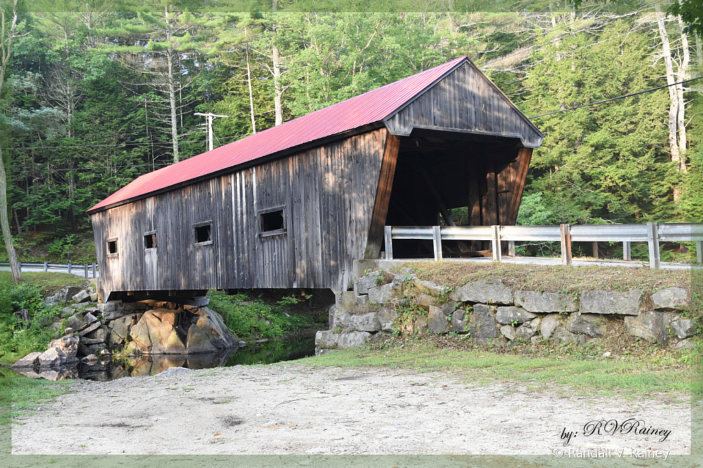 A New Hampshire Covered Bridge