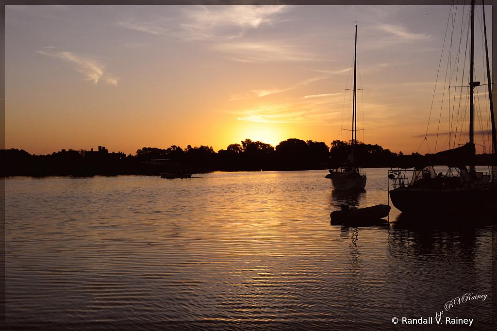 Sun up in Oxford MD w/ raf tup