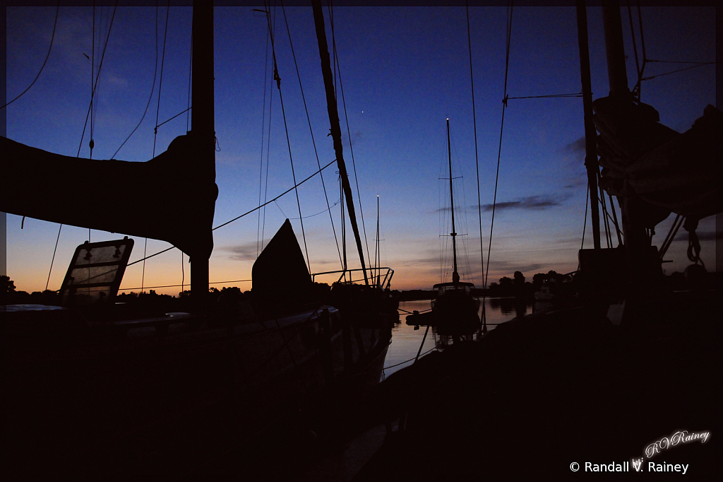 Boats at rest for the evening...