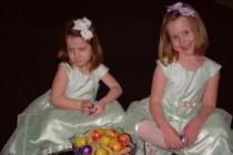Maddie and Meredie at Easter
