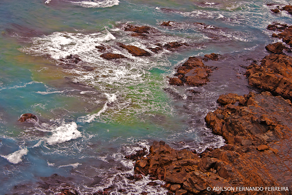 Colors of water