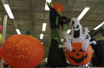 Halloween Shop Display