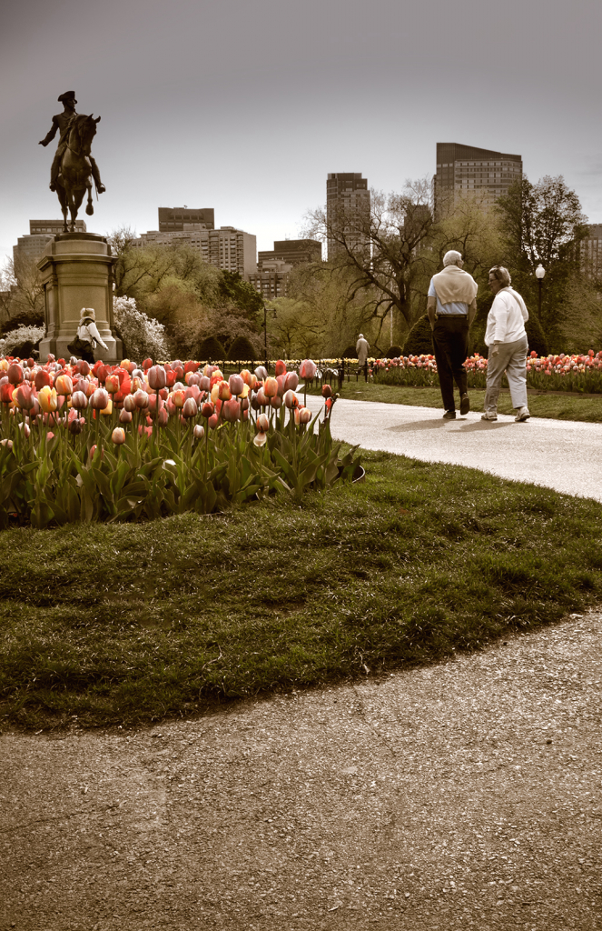 The Public Garden...Boston