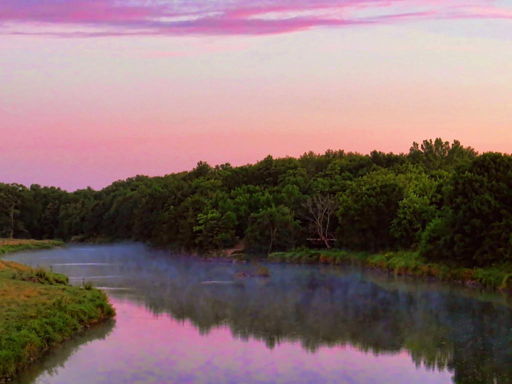 Misty Shellrock River
