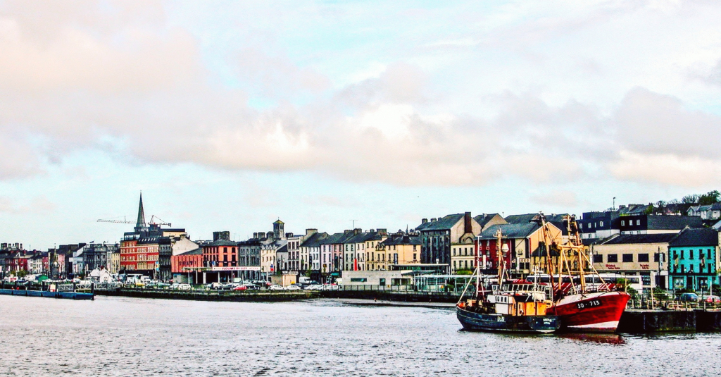 The River Suir Waterfront in Waterford, Ireland