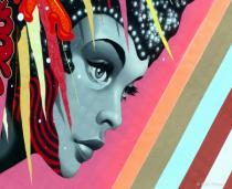 Vegas mural art