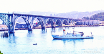 Yaquina Bay Water Way, Newport Oregon