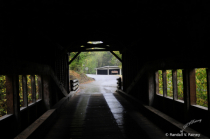 On the Covered Bridge looking out