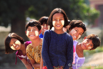 Faces of Myanmar Girls
