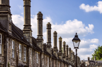 A Long Row of Chimneys