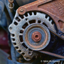 Alternator - Industrial Abstract