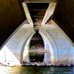Under the bridge ...