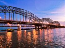 Bridge on Hlaing River
