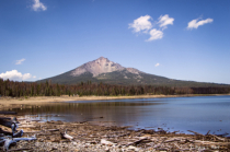 Mt McLoughlin and Four Mile Lake