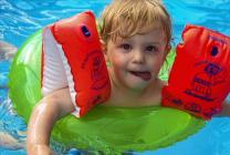 Proud little Swimmer