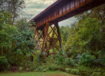 Old Mill Railroad Spur
