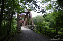 Grand Canyon of Pa Hiker/Biker Bridge