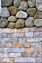ROCKS AND BRICKS