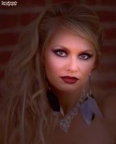 Gorgeous Blonde Portrait With Vignette