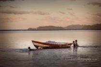 Boys Playing in Fiji