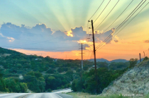 Texas Hill Country Sunset
