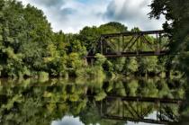 Train Trestle over the Paint Rock River