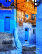 ~ ~ BLUE DOORS IN CHEFCHAOUEN ~ ~