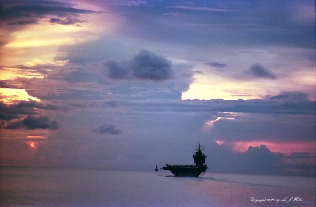 USS Enterprise South Pacific