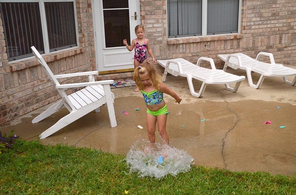 Bubble water is Abgail