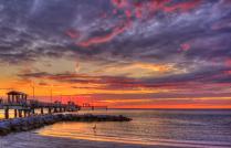 Ft. DeSoto Pier Sunset