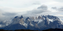 Clouds over the Torres del Payne massif