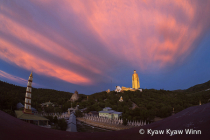 Evening Clouds Over Pagodas