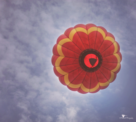 Red Balloon Above Me