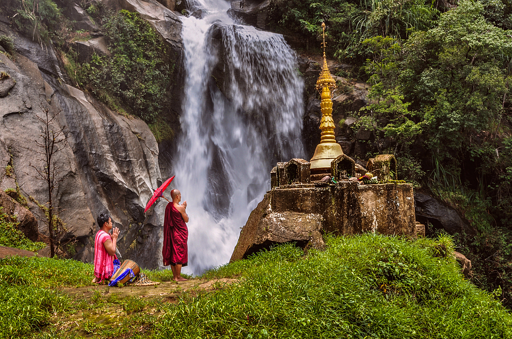Elephant Mountain Waterfall