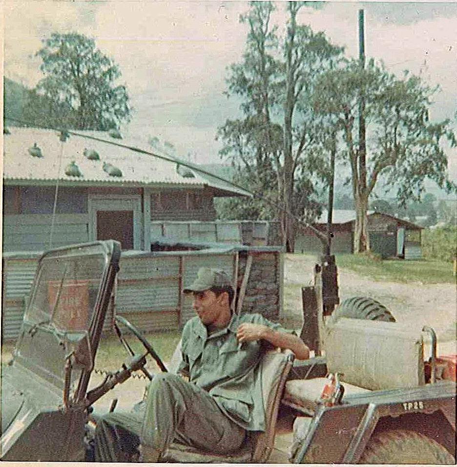 4th S&T Battalion XO Driver March 1970 Vietna - ID: 15851360 © Linda Engel