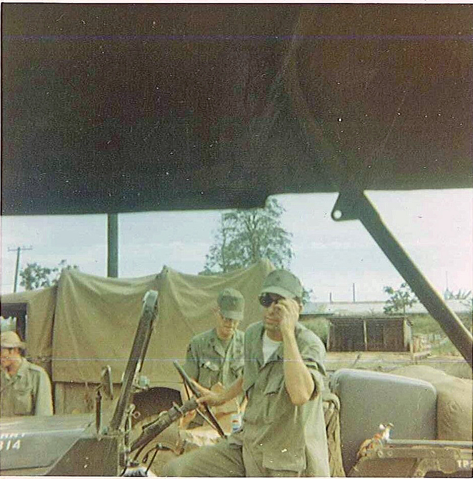 Capton Hall, Battalion XO Driver 4th S&T Batt - ID: 15851366 © Linda Engel