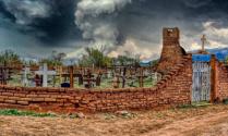 At the Isleta Pueblo