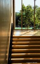 Sunlight Across Stairs