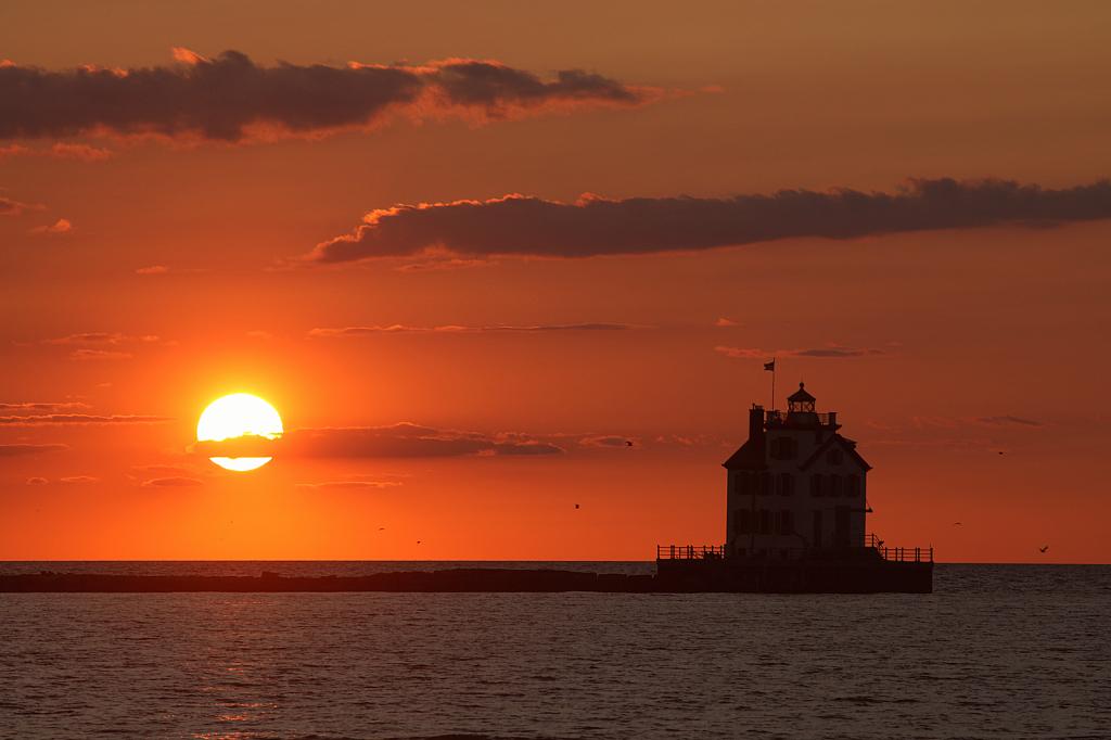 lorain sunset