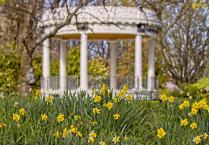 Band rotunda in spring