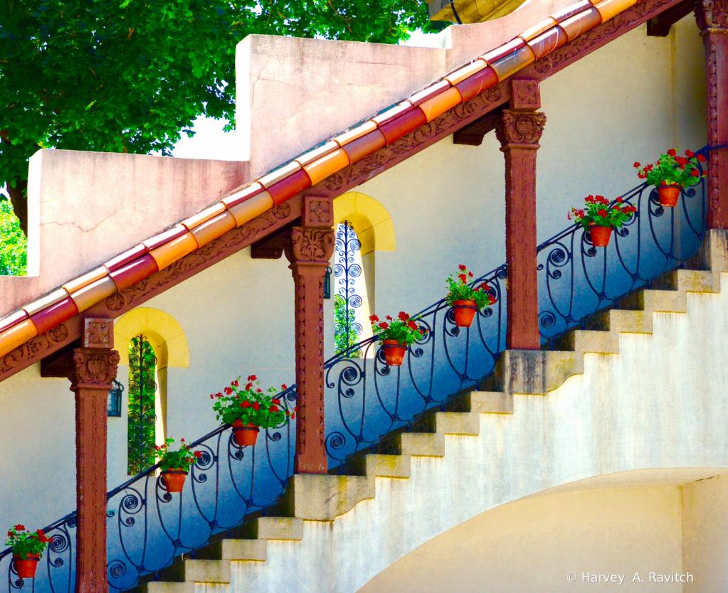 Mr. Vanderbilts Stairway ..