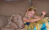 Molly grandchild G.G.Leger dog