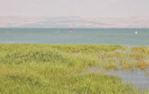 Windsurfing on the Sea of Galilee