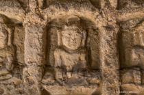 Carving in Koe Thaung Temple in Myanmar