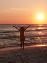 G.G.Leger is sunsets Pensacola Beach