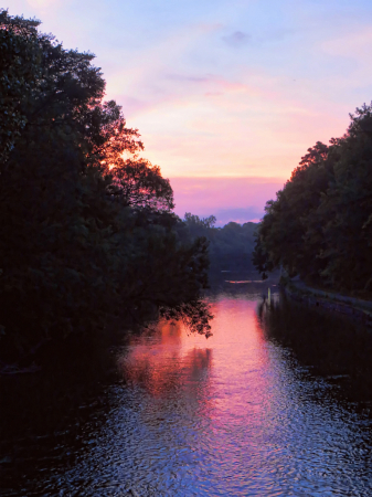 Winnebago River At Sunrise