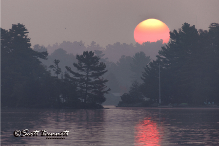 Stoney Lake Sunrise