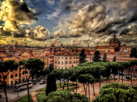 ~ ~ SUNDOWN IN ROMA ~ ~